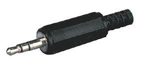 Fiche Jack male 3,5mm stéréo droit à souder