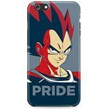 Dragon Ball Z Vegeta Pride Hard Plastic Snap-On Case Skin Cover For iPhone 6 / iPhone 6s