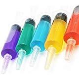 Jello Shot Spritzen, 50 Stück X-Large, 57 ml, BPA-frei, waschbare und wiederverwendbare Spritzen für Jello Shots - Bonus Jello Shot Rezeptbuch - Perfekt für große Jello Spritzen Shots