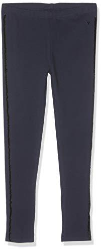 TOM TAILOR Kids Mädchen Placed Print Leggings, Blau (Black Iris 3800), 104 (Herstellergröße: 104/110) -