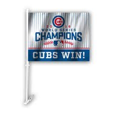 Fremont Die 2016 World Series Chicago Cubs KFZ Flagge -