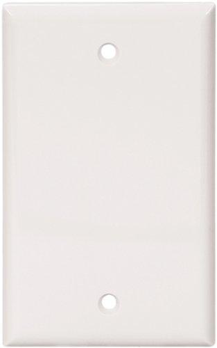 Cooper Wiring5129WBOXUnbreakable Nylon Blank Wall Plate-WHT BLANK WALL PLATE