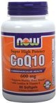 CoQ10, 600 mg, 60 Softgels – Now Foods - 21BvAFr0HJL
