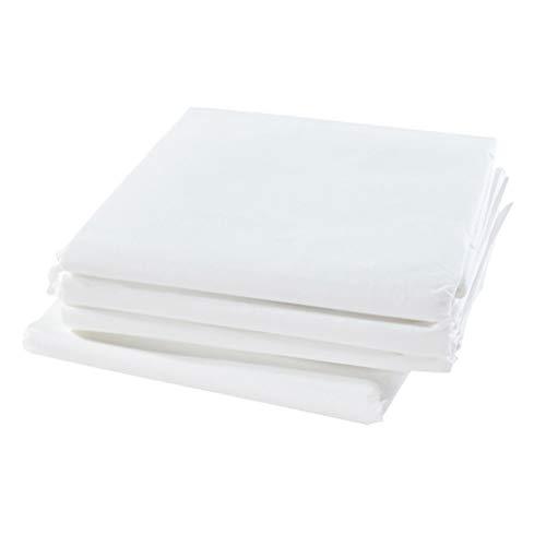 Healifty 10pz lenzuolo monouso massaggio 180x80cm per lettino in bianco