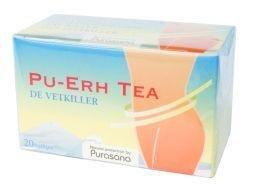 Pu-Erh Tea - Brûleur de graisses 20 infusettes - Purasana