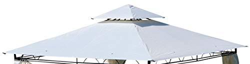 ASS Dachplane für Gartenpavillon 3x3m Wasserfest für Modell: 7075 - Kein Umtausch Oder R