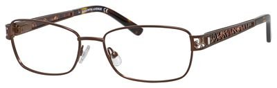 saks-fifth-avenue-273-eyeglasses-0jrk-brown-55-16-135