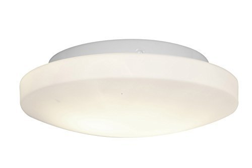 Access Lighting 50160-WH/OPL Orion Two Light 11-Inch Diameter Flush Mount with Opal Glass Shade, White Finish by Access Lighting Orion Mounts