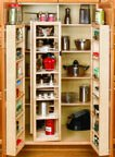 Pantry Regal System, 51–1/10,2 cm H, Kits inkl. 2 of-pack der Vor