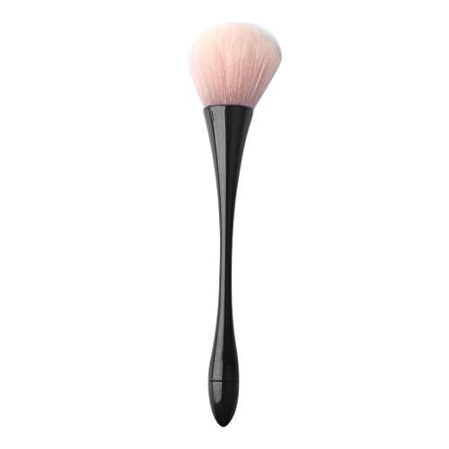 Pinceau Fond de Teint Professionnel pour Maquillage du Visage Blending Blush Concealer - Parfait Pour le Mélange Liquide, Crème ou Poudre Cosmétique Sans Défaut - Polissage, Pointillé, Anticernes (B)