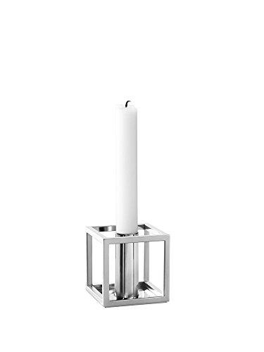 By Lassen - Kubus 1 Kerzenhalter - Nickel - Mogens Lassen - Design - Kerzenhalter