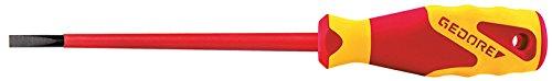 GEDORE 2170 6,5 VDE-Schraubendreher Schlitz 6,5 mm, maa