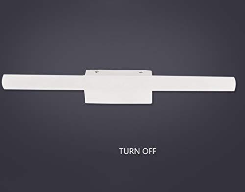 40 Firewall (ZHYTX Innen- / Außenwand führte Taschenlampen-Frontspiegel/Anti-Fog-Badspiegel Firewall nachhaltig erweiterbar und praktisch,40 cm 9,6 w)