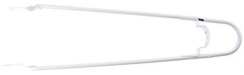 Schutzblechstrebe Bumper-Strebe, für Holland-Räder, Achsbefestigung, mit Schutzbügel für Rücklicht, 28, Tour, weiß