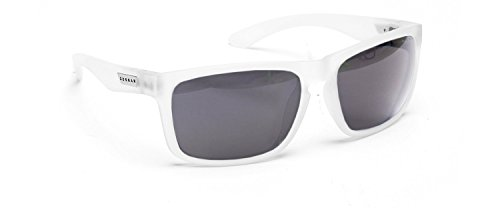 Gunnar Optiks INT-06607 Intercept Full Rim Advanced Outdoor Glasses with Grey Lens Tint, Ghost Frame Finish
