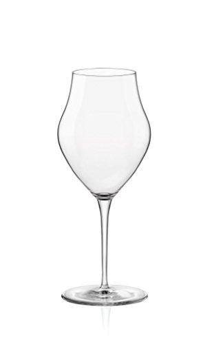 Verres à vin Inalto Arte - petite taille - coffret cadeau de 6 verres - 385 ml