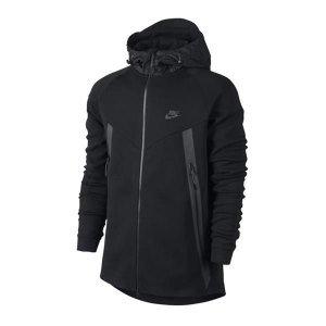 Sweat Nike Tech Fleece Bonded Windrunner Full-Zip Hoody - 642958-012 - M