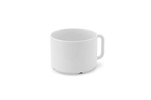 Friesland Kaffeetasse Milchkaffee- Obertasse Life Revival 0,5 l weiß