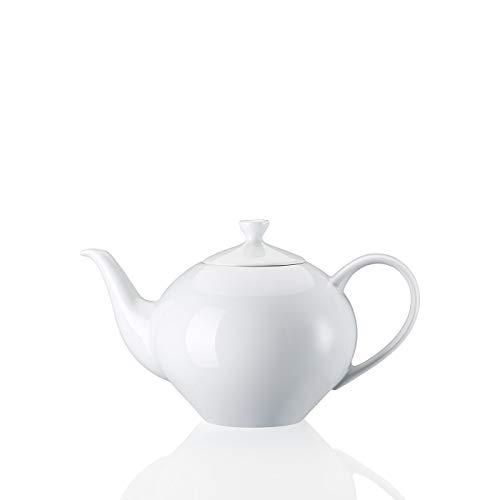 Arzberg Form 2000 Teekanne / 6 Personen, Tee Kanne, Porzellankanne, White, Porzellan, 1.4 L, 42000-800001-14230