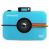 Polaroid-Schnappschuss-Sofortdruck-Digitalkamera Fotoalbum – Album mit Zickzackfaltung für 12 Fotos - für Zink-Fotopapier 5 x 7.5 cm (Snap, Zip, Z2300) - Blue. (Touch Polaroid)