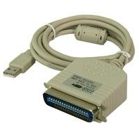 2direct Adapter USB to Parallel Konverter USB-parallel USB-A/Stecker - C36 / Stecker 1.8 m - Ibm Usb-drucker