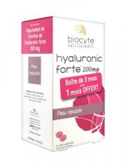 Biocyte Hyaluronic Forte 200mg Moisturizing Plumping 3 x 30 Tablets from Biocyte