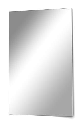 your-homestyle specchio in cristallo senza cornice, 40 x 60 cm