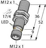 Turck Sensor BI4-M12-VP6X-H1141 induktiv Induktiver Näherungsschalter 4047101081022