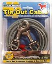 TIE OUT CABLE 10FT VERY STRONG ALL CHEW PROOF CABLE
