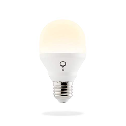 LIFX Mini White (E27) smarte WLAN LED-Birne, dimmbar, warmweiß, kein Hub notwendig, funktioniert mit Amazon Alexa, Apple HomeKit und Google Assistant