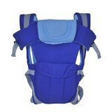 And -Generic 1 Pc Adjustable Hands-Free 4-in-1 Baby Carrier with Comfortable Head Support & Buckle Straps ,Blue