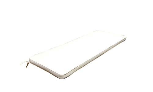 Cuscino lungo 110x45 ecrù sfoderabile impermeabile lettino esterno CU805661