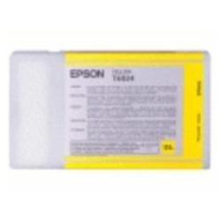 Epson T6114 Cartouche d'encre d'origine Jaune (110Ml)