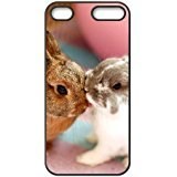 Ipod touch 6 Case,DIY Cute Rabbit Pattern for Ipod touch 6 Black Back Cover Phone Case [XMMCASE]