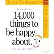 The Best of 14,000 Things to Be Happy about with Other