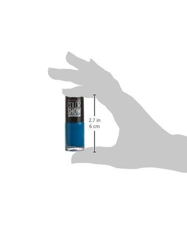 Maybelline – Esmalte de Uñas Color Show 654 Superpower Blue