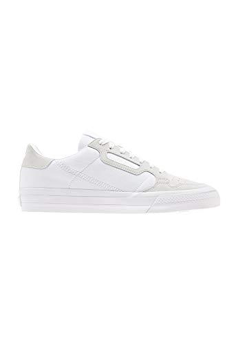 Vulc Schwarz Wildleder (adidas Originals Sneaker Continental Vulc EF3523 Weiß, Schuhgröße:38 2/3)