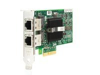 Hewlett Packard Enterprise Adapter NC360T PCIe Dual Port **Refurbished**, 412648-B21B-RFB-LOW (**Refurbished** PCI Express Dual Port Gigabit Server Adapter) (Hp-server Refurbished)