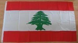 Drapeau Liban - 150 x 90 cm