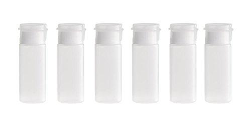 6pcs 12ml Effacer Recharge PE Tubes souples Emulsion Emballage Make Up Conteneur de cosmétiques pour le visage Nettoyant Shampooing Douche facile à presser