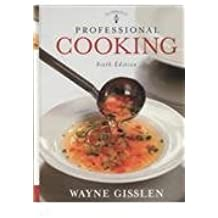 Professional Cooking: WITH Student Study Guide by Wayne Gisslen (2008-09-04)