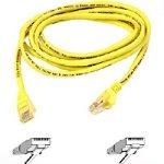 Belkin Cat5e RJ45-Netzwerkkabel Snagless mit angespritzter Zugentlastung (10m) gelb -