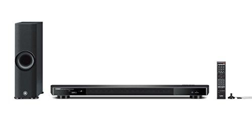 Yamaha YSP-2500 - Proyector de sonido con subwoofer inalámbrico de 162 W, color negro