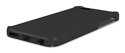 iPhone 6s Case, roocase [Jakkit] iPhone 6s Ultra Slim Fit Lightweight Case Cover for Apple iPhone 6 / 6s (2015) [Scratch Resistant and Corner Protection], Crystal Clear Black