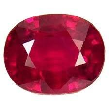 Lab Certified Natural Burma Ruby (Manik) 5.25 Ratti 100% original with lab certified card & guarantee card