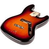 Fender 099?8007?700USA Jazz Bass Alder Body, Modern Bridge Mount, 3per Color Sunburst