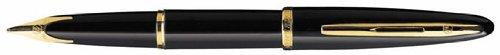Waterman Carene 11105W2 - Penna stilografica a punta fine, colore: Nero