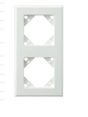 REV Ritter 0541420551 Trend Rahmen 2-Fach weiß