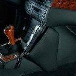 KUDA Phonebase Konsole BMW 3er/E46 Lederkonsole für BMW 3er Serie/E46 Bj'98