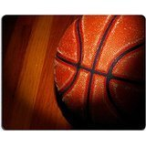 Luxlady Gaming Mousepad a basketball on the gym floor with dramatic light IMAGE ID 7139054